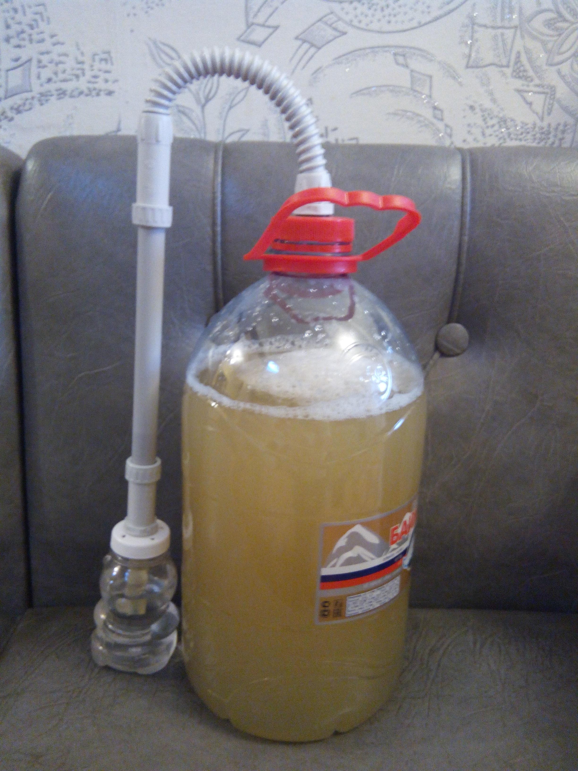 Бражка на 5 литров воды